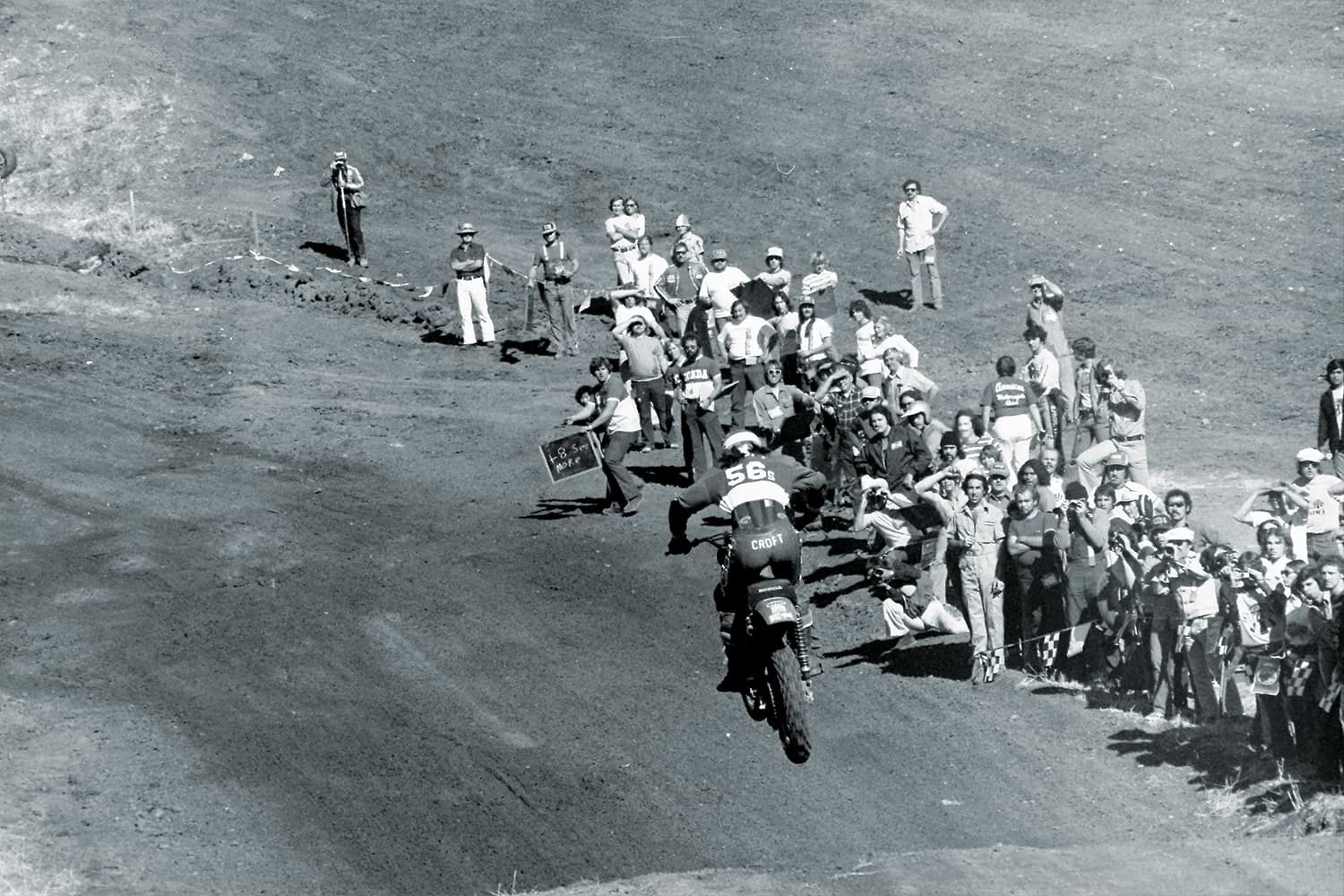 1975 Trans-AMA race at Northern California's Carnegie Cycle Park