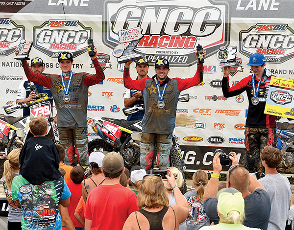 Thad Duvall wins the Mason-Dixon GNCC for the second straight year