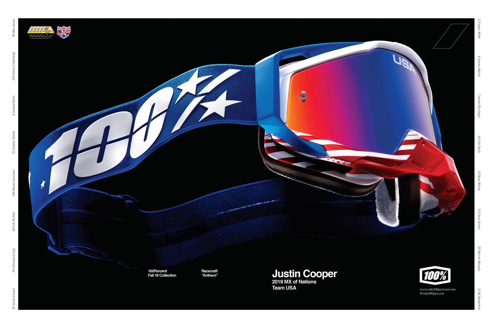 Racer X December 2019 - Ride 100 Precent Advertisement
