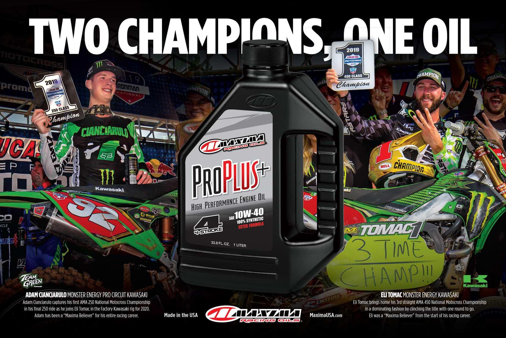 Racer X December 2019 - Maxima Advertisement