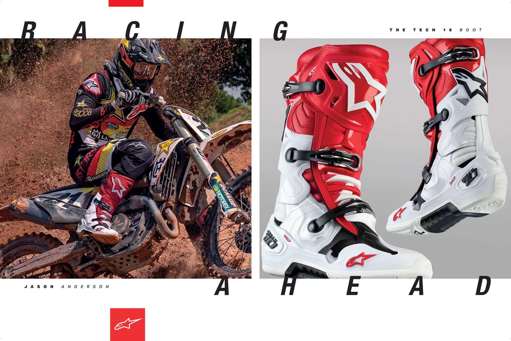 Racer X December 2019 - Alpine Stars Advertisement