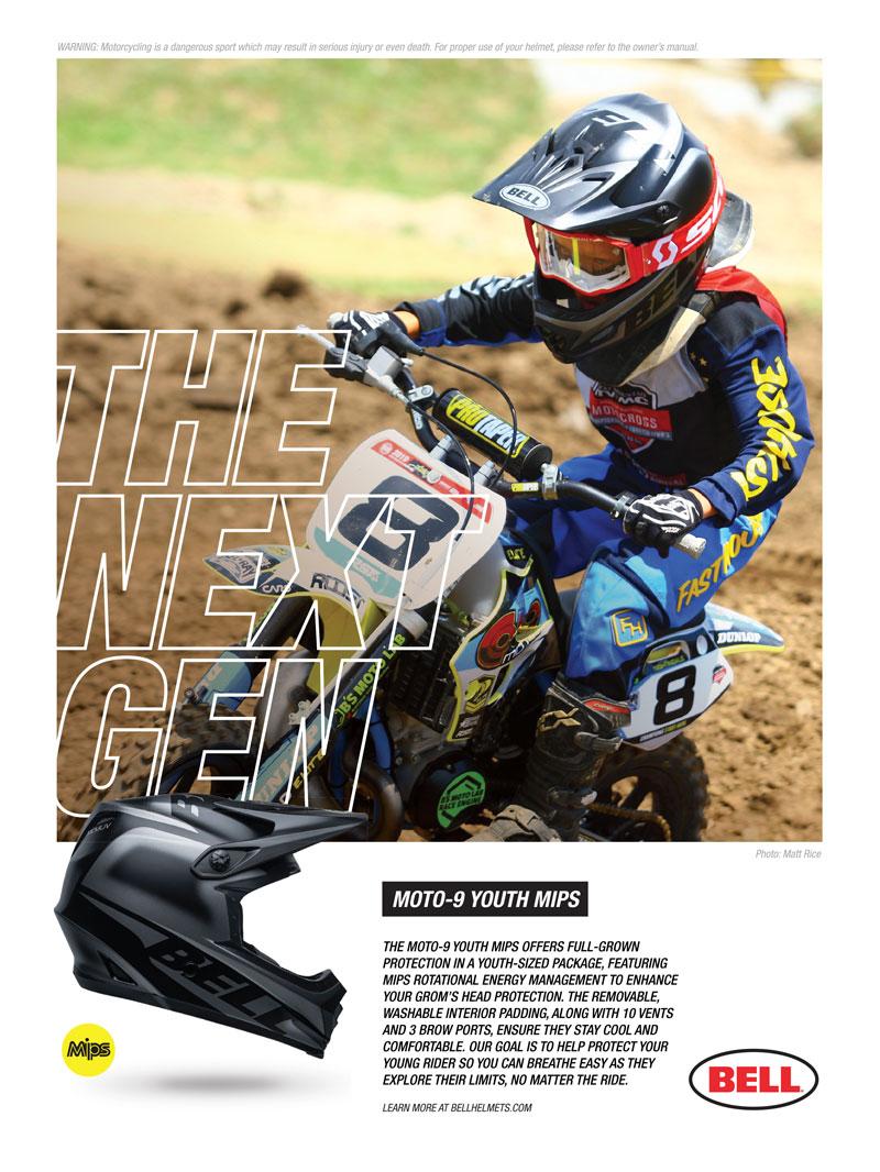 Racer X December 2019 - Bell Helmets Advertisement