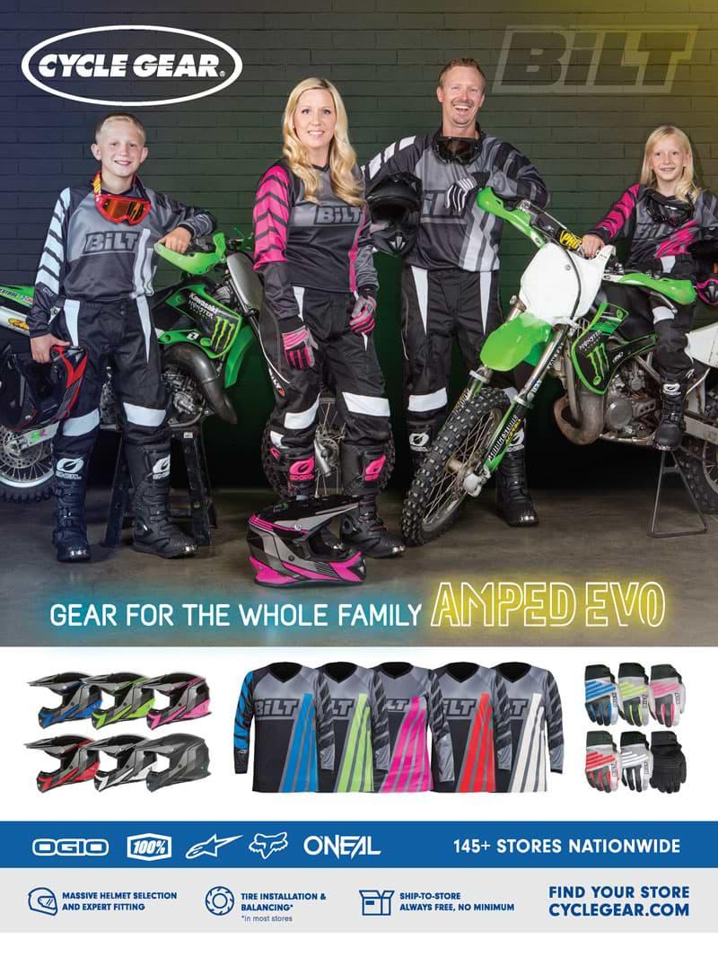 Racer X December 2019 - Cycle Gear Advertisement