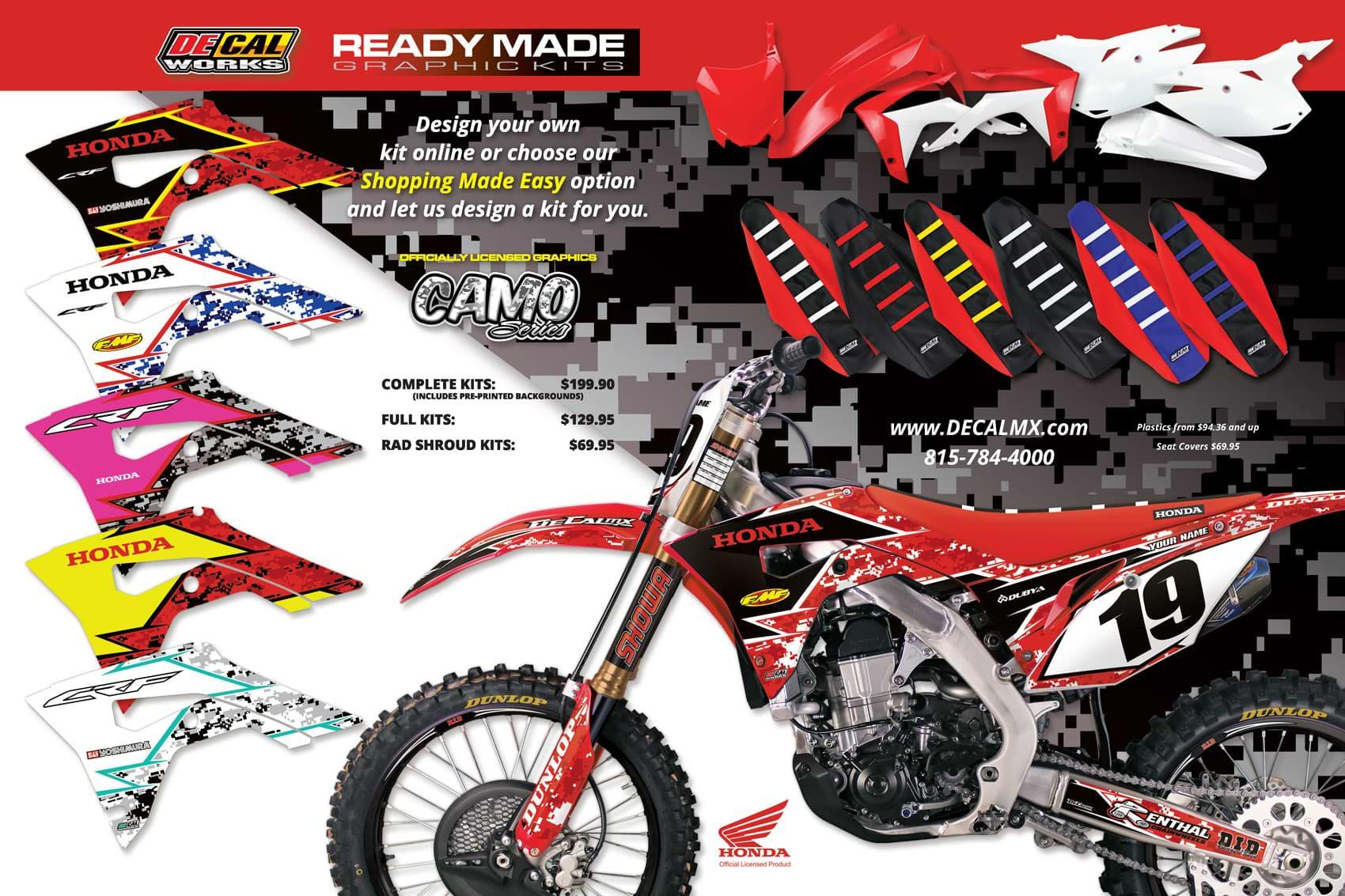 Racer X December 2019 - Decal Works Advertisement