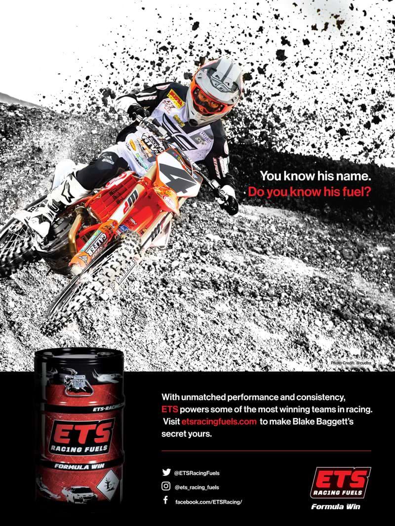 Racer X December 2019 - ETS Racing Fuels Advertisement