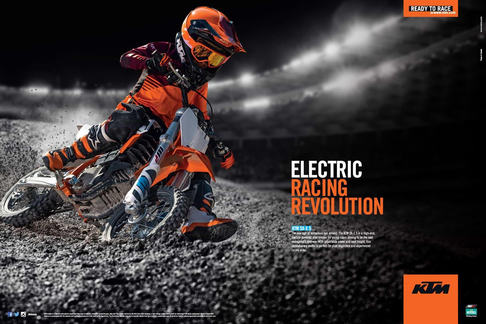 Racer X December 2019 - KTM Advertisement