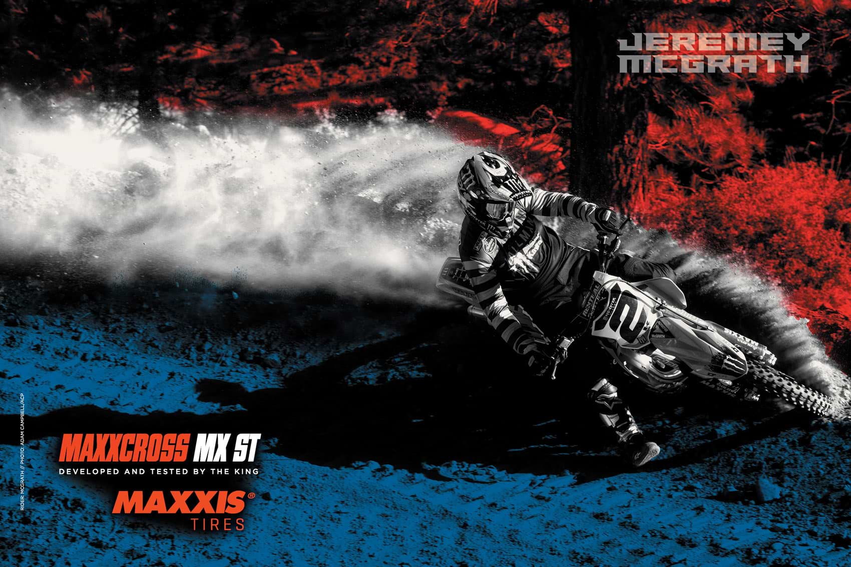 Racer X December 2019 - Maxxis Tires Advertisement