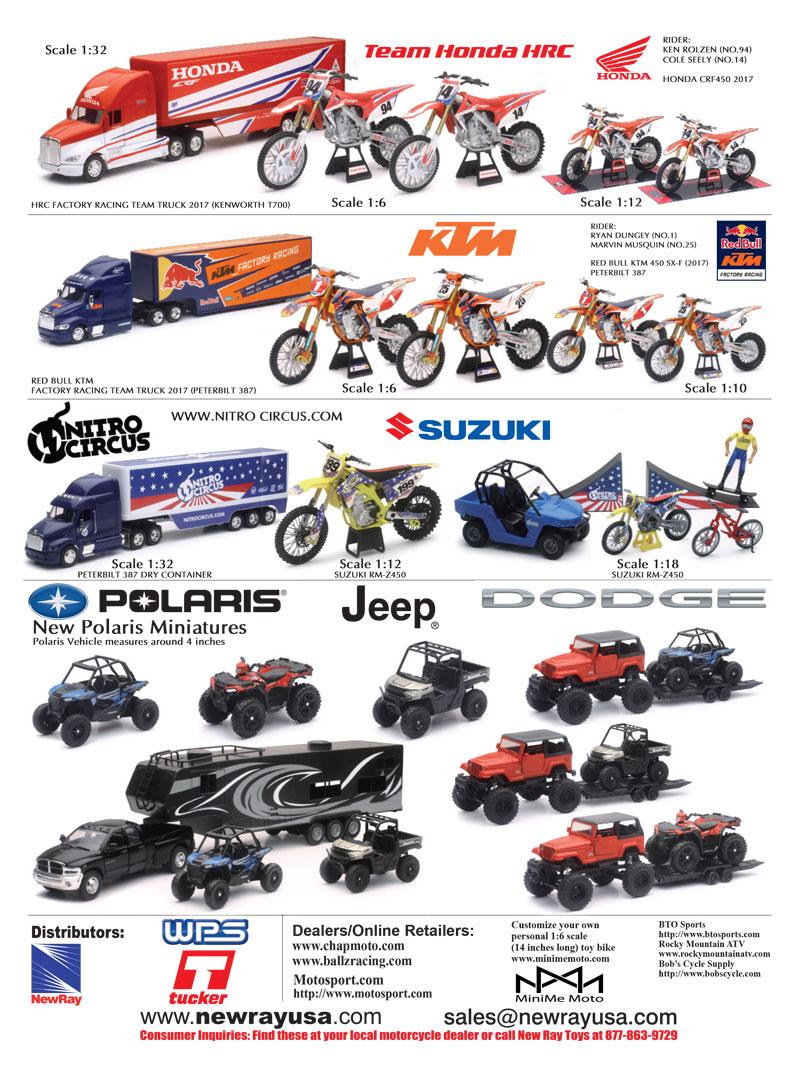 Racer X December 2019 - New Ray USA Advertisement