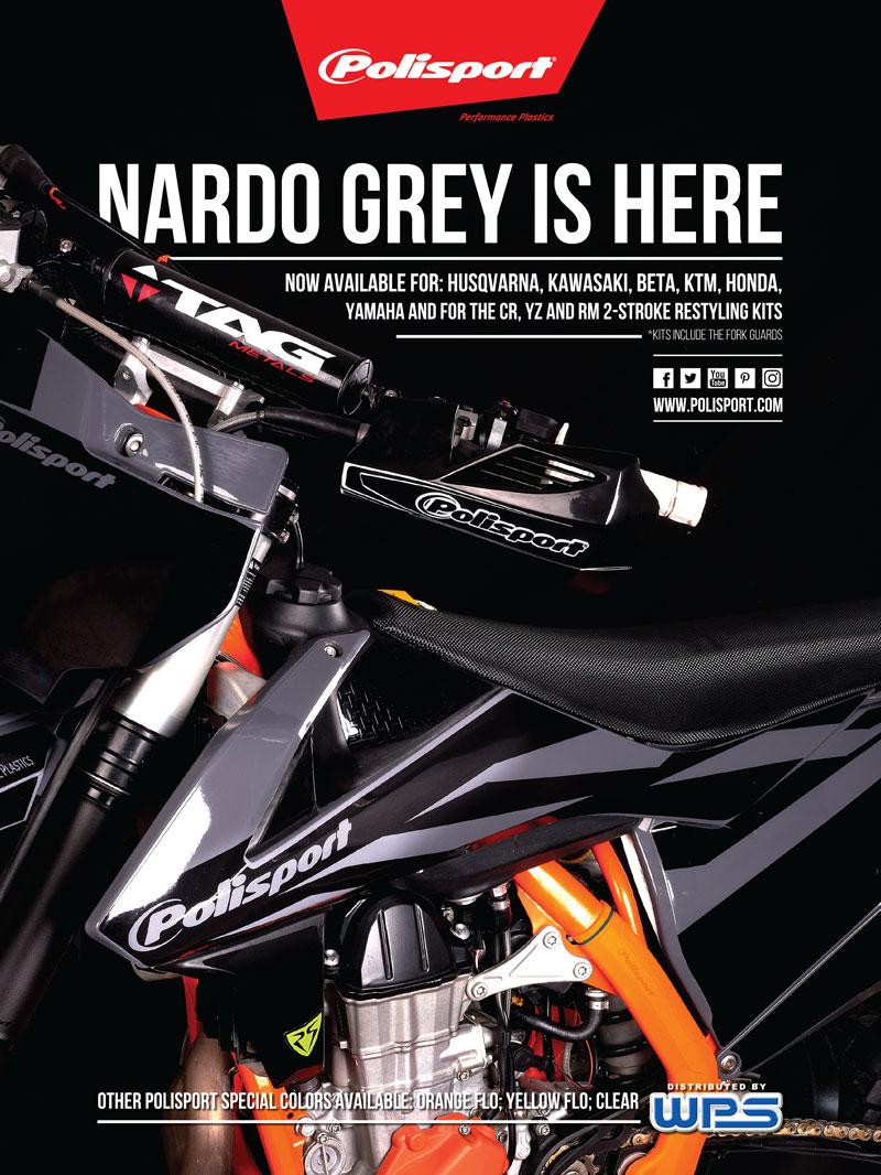 Racer X December 2019 - Polisports Advertisement