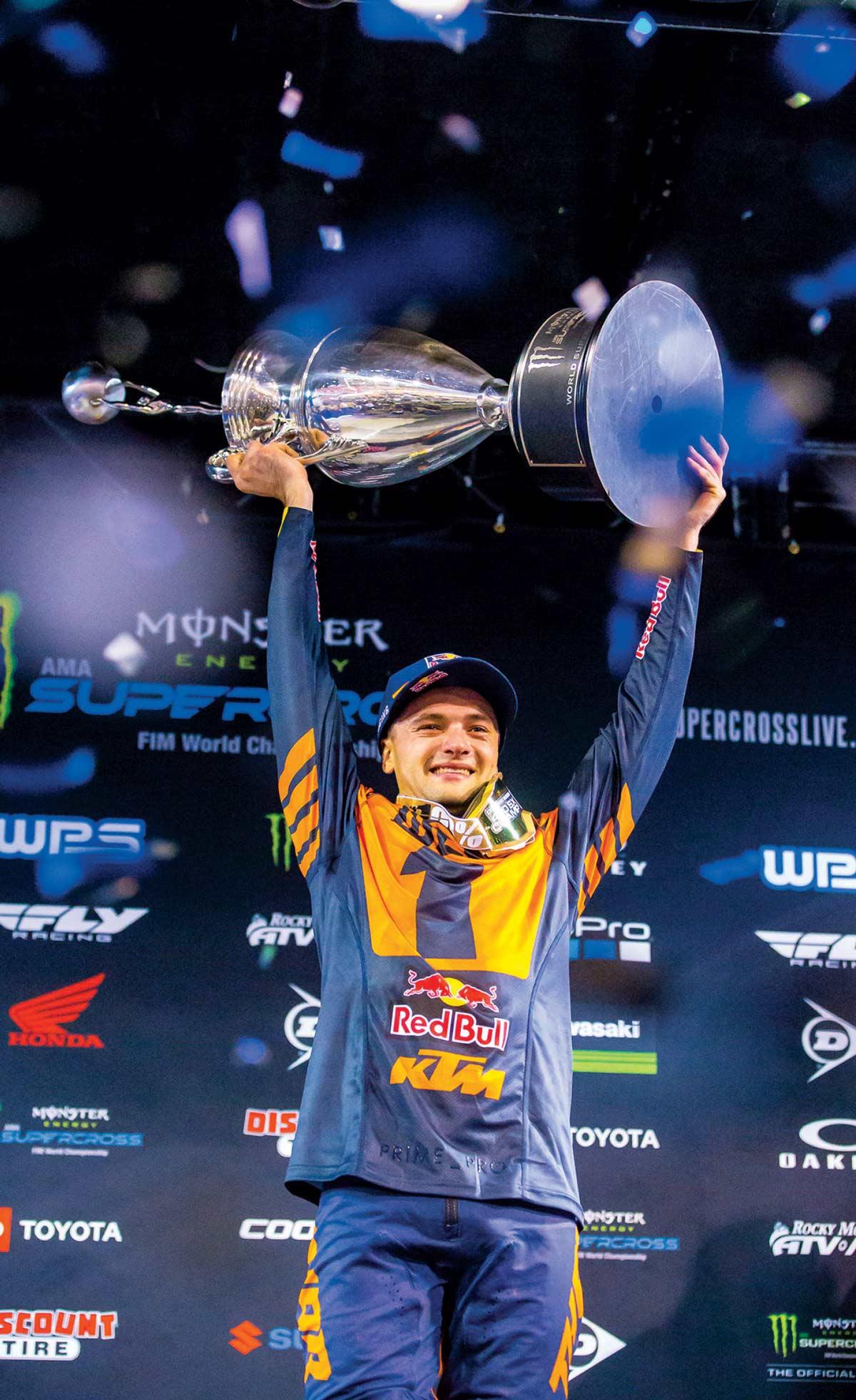 AMA Supercross Championship trophy