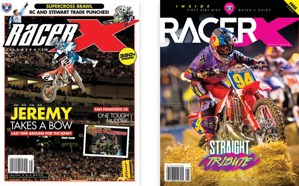 Racer X Illustrated covers