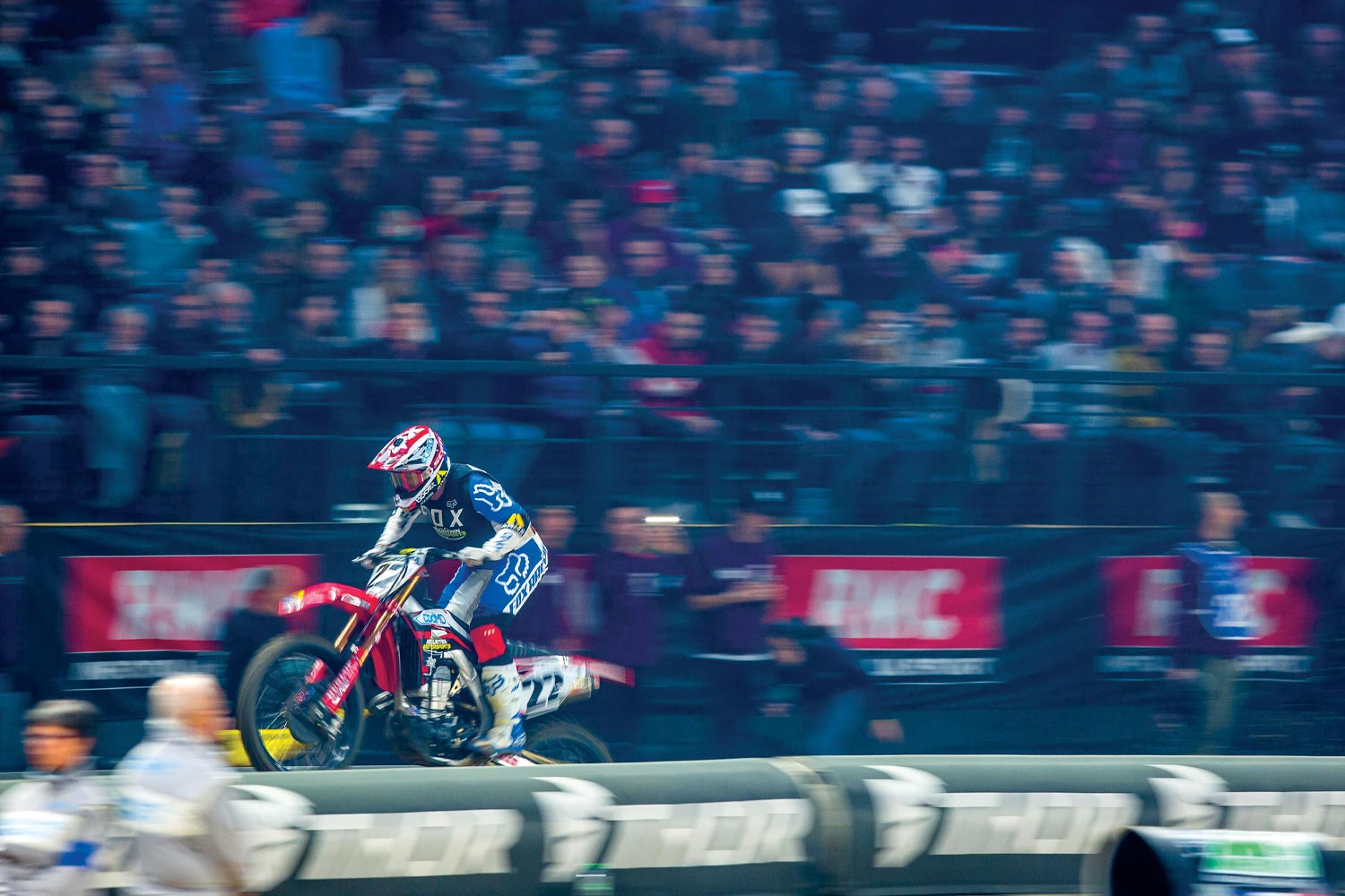 Chad Reed riding