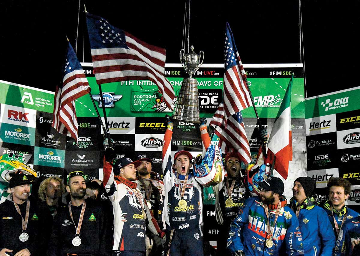 Team USA last took the center of the podium at the annual FIM Motocross of Nations in 2011