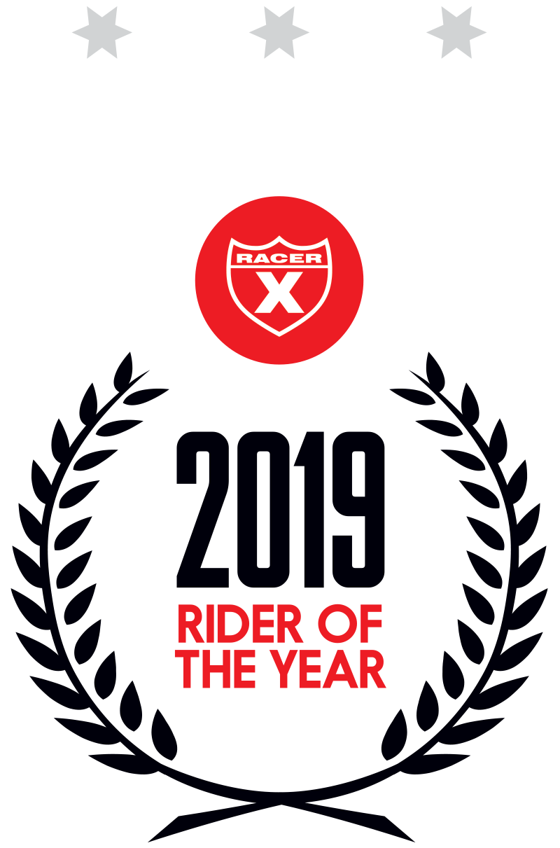 2019 Rider of the Year
