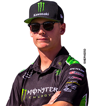 Monster Energy Kawasaki's Adam Cianciarulo
