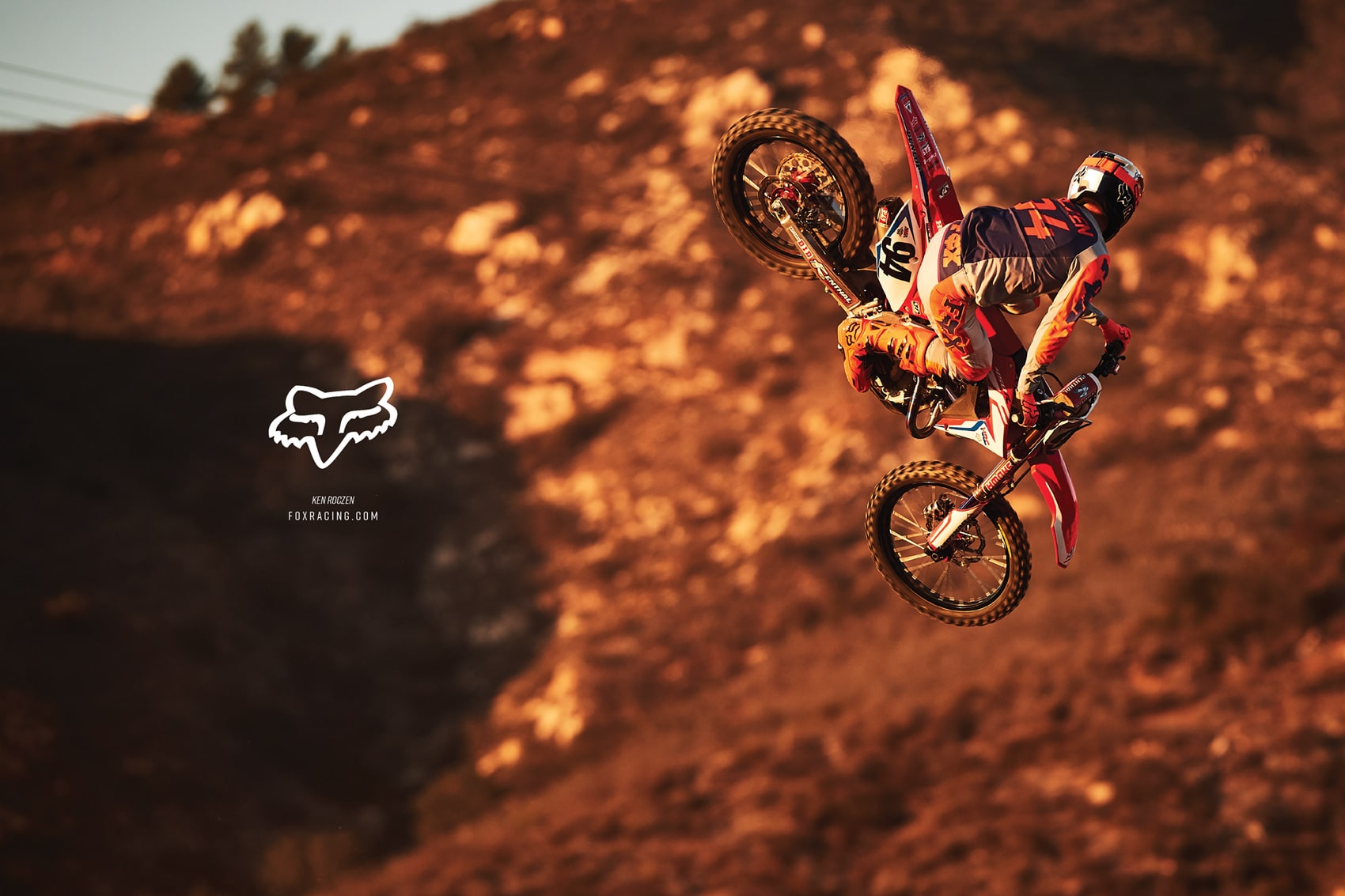 Fox Racing Advertisement