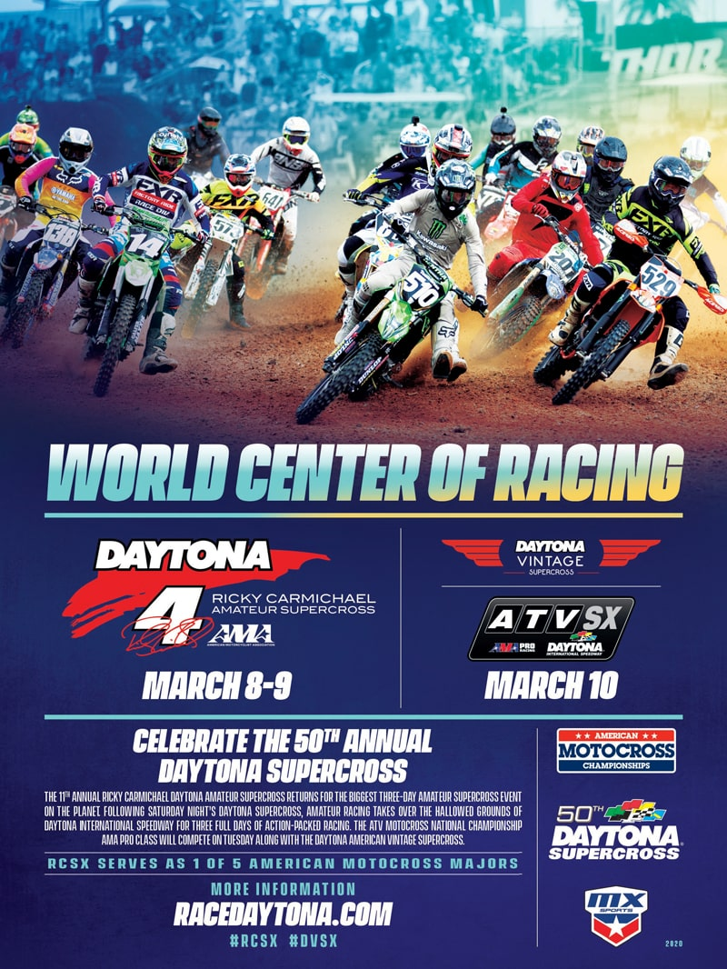 Race Daytona Advertisement