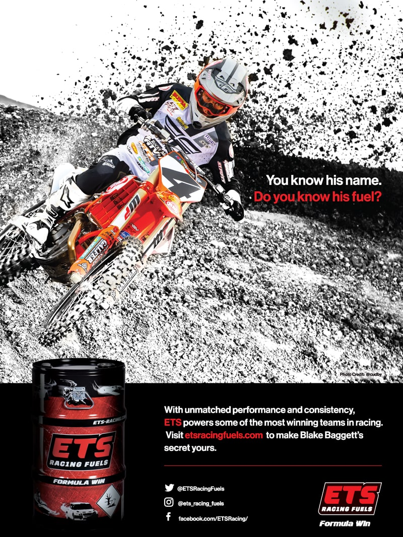 ETS Racing Fuels Advertisement