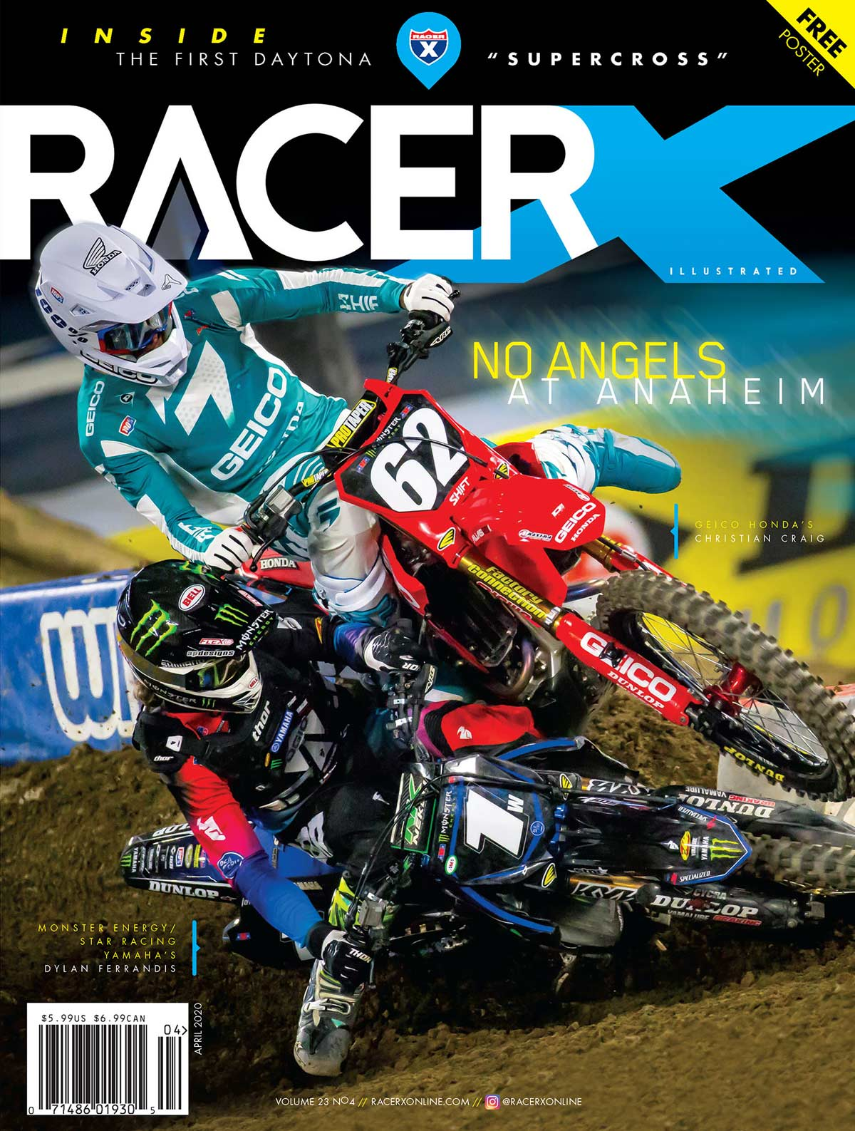 RacerX April 2020 Issue Cover