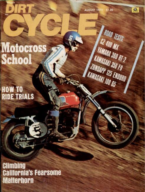 The Pinole, CA native 'Bad' Brad Lackey took the 500cc AMA National title in 1972.