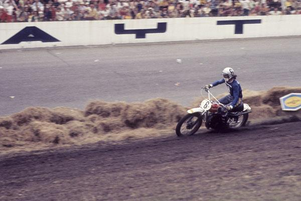 Bob Grossi, a native of Santa Cruz, CA, won the first 250cc National of 1973, which happened to be at Daytona International Speedway.