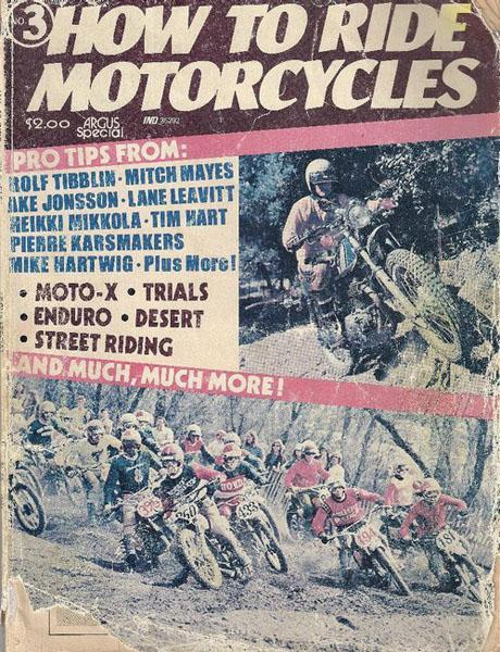 Rick Sheren sent us this old cover showing the start of the first 125 National at Hangtown.