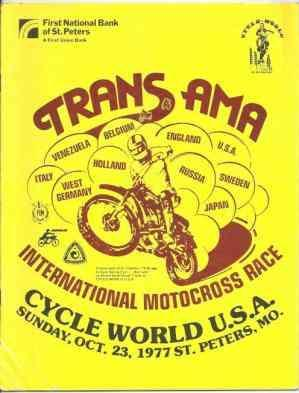 Trans AMA International Motocross Race
