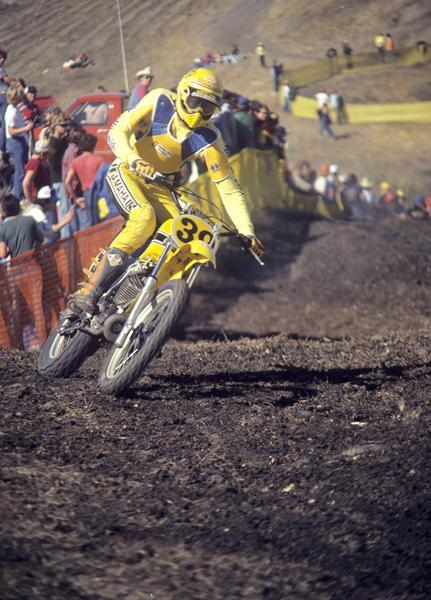 That's Mike Bell at the '79 Trans-USA race at Sears Point in Sonoma, California.