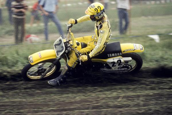 Second year pro Rick Johnson burst on the scene by winning the first national of the year and was a broken front wheel away from winning the 250 national title.