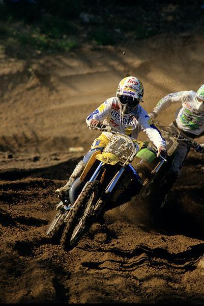 Bob Hannah's career was winding down but he could still go very, very fast -- he won the second moto at Southwick!