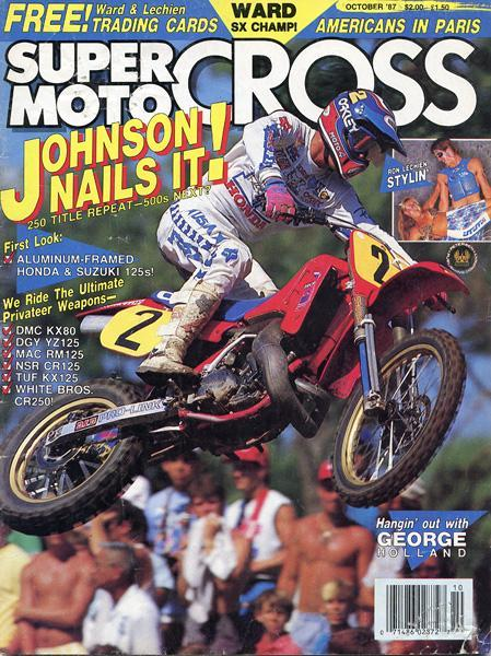 Rick Johnson was reaching the peak of his career and popularity in 1987.