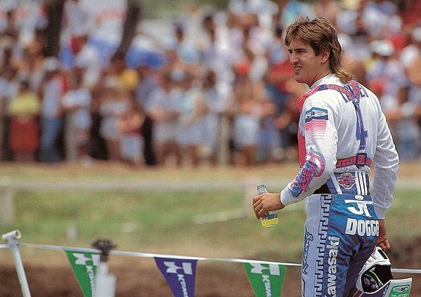 Ron Lechien had a solid year in 1988, ending with a solid win at the Motocross des Nations for Team USA.