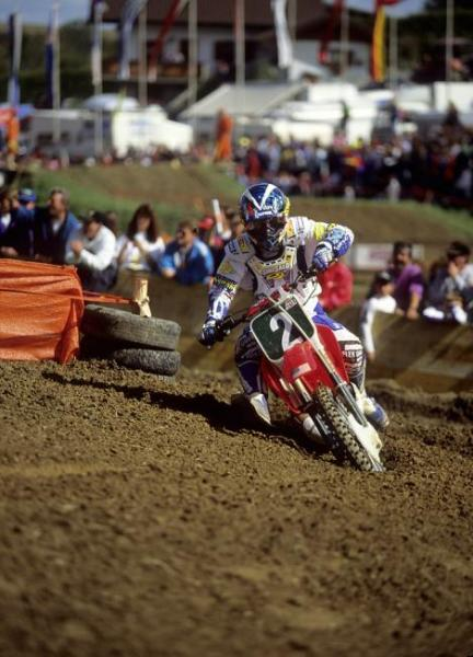 Jeremy McGrath was drafted onto the 250 by the fans for the '93 Motocross des Nations in Austria, and though he struggled on the rugged Schwanestadt circuit, he helped Team USA prevail for a 13th year in a row.
