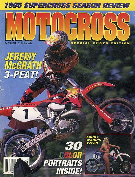 Jeremy McGrath had his best year to date as a professional in 1995, sweeping both the AMA Supercross and AMA Motocross titles.