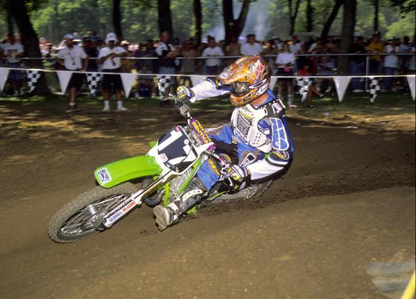Damon Huffman would finish seventh in the 125cc class in '97.