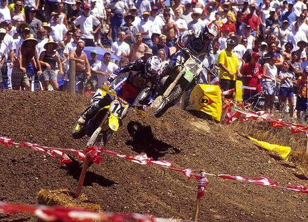 Kevin Windham (14, of course) and Carmichael (4, of course) had some great duels during the summer of 2001.