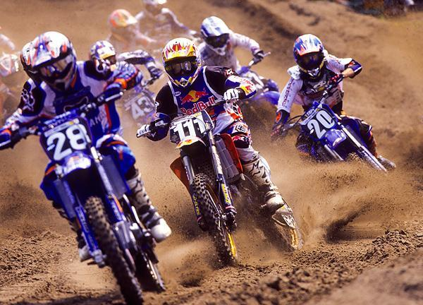 Grant Langston (111) made KTM a front-runner in AMA Motocross.