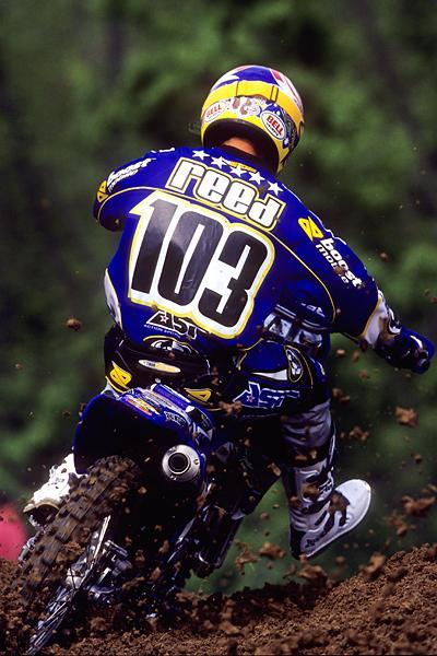 In his first year in the U.S., Chad Reed cleaned up in East SX and looked good early outdoors by taking High Point. He wasn't a match for Stewart, though, and amazingly enough, he wouldn't win another AMA Motocross until High Point in 2009!