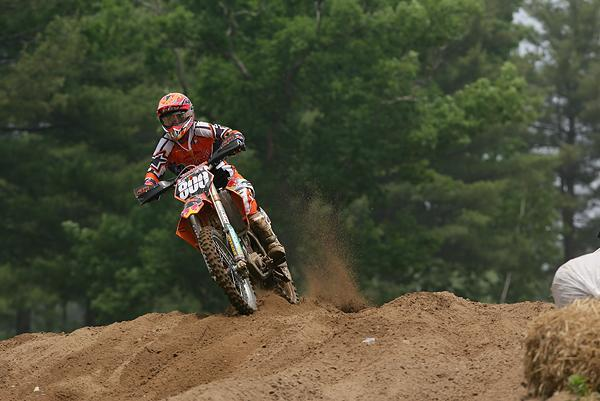 Mike Alessi made his full-season pro debut in 2005, riding a 250F for KTM. He nearly won the title, but his season was marred by controversy.