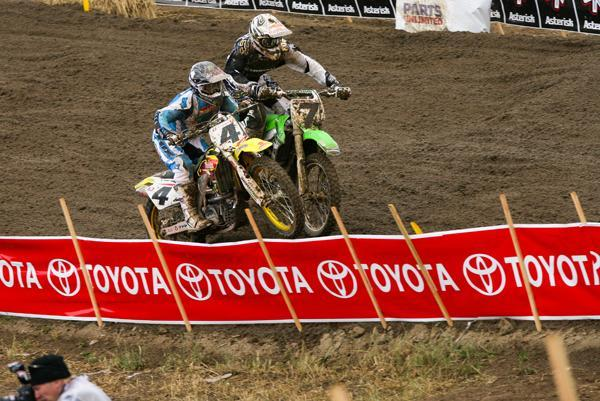Carmichael and Stewart battled throughout the '06 season.