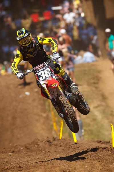 Canard would get hot late and complete one of the greatest comebacks in motocross history.